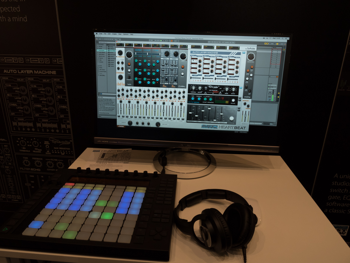 Musikmesse 2015 Day2 : Softube