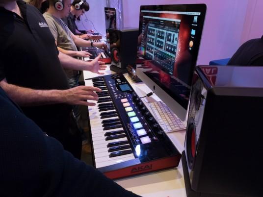 AKAI at Musikmesse 2015