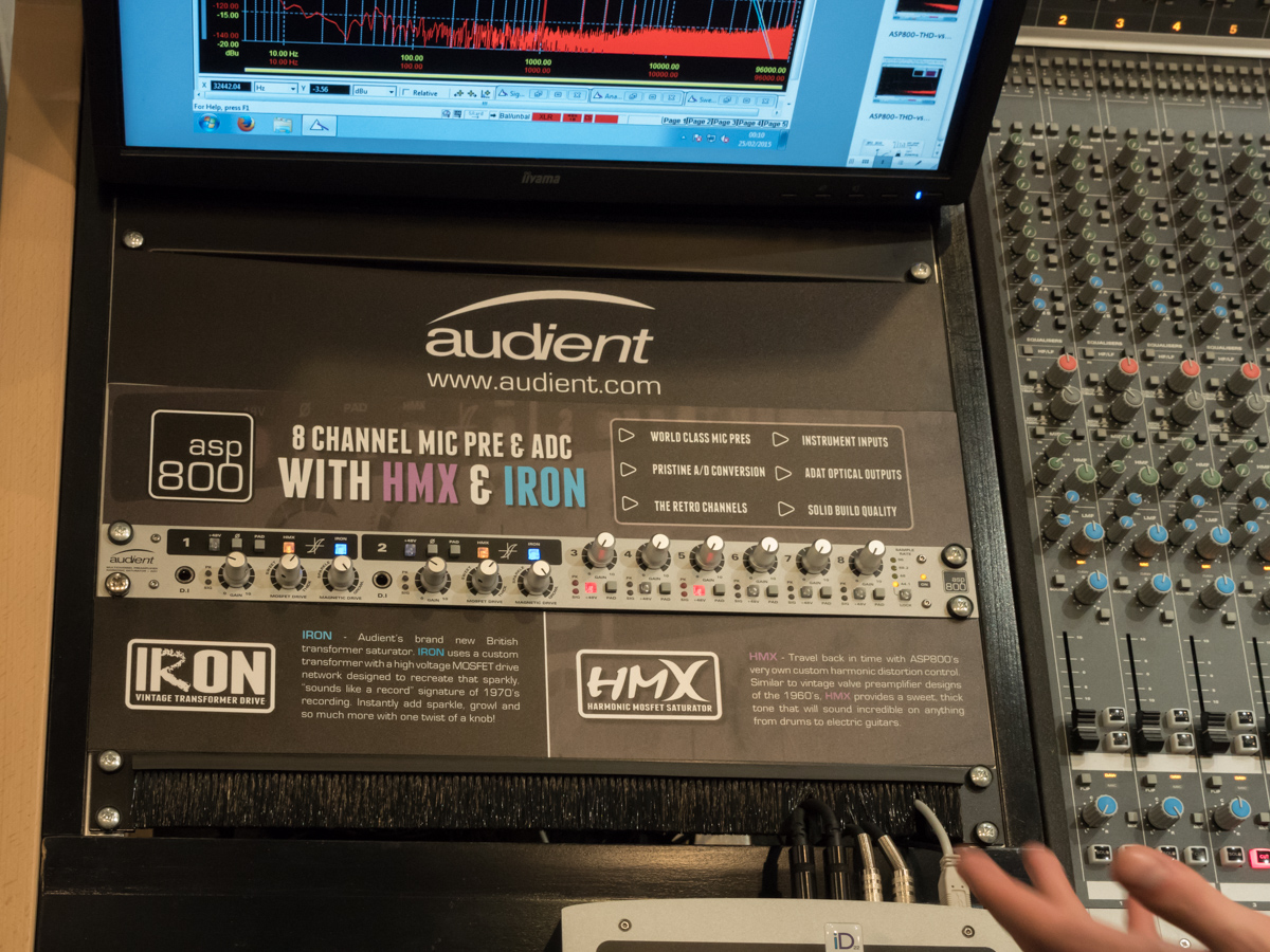 Musikmesse 2015 Day2 : Audient