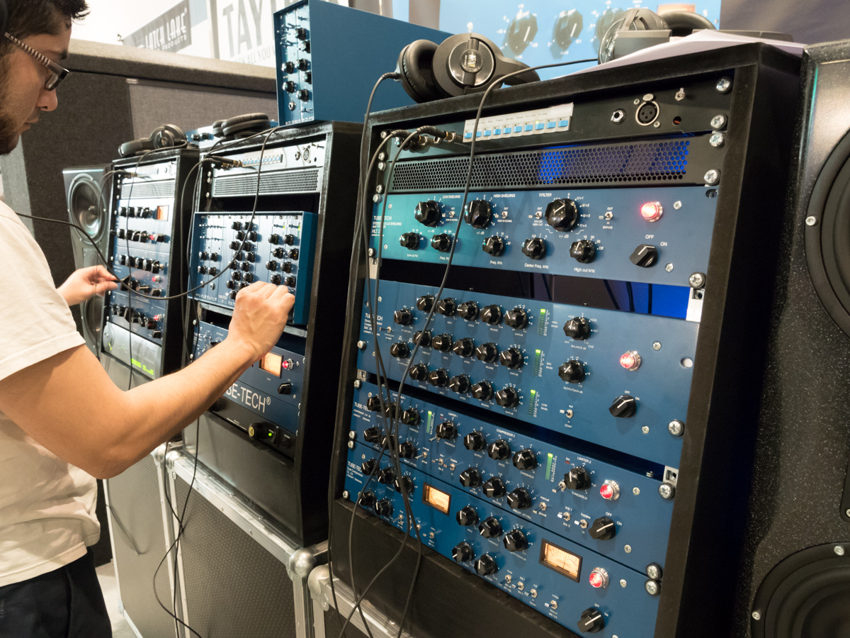 Musikmesse 2015 Day 3:TUBE TECH
