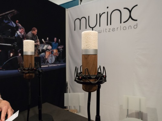 Myrinx at Musikmesse 2015