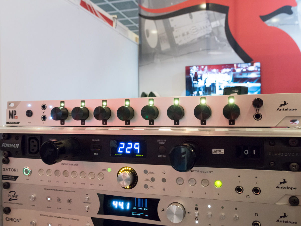 Musikmesse 2015 Day2 : Antelope Audio