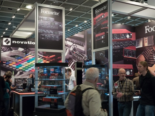 Clarett at Musikmesse 2015