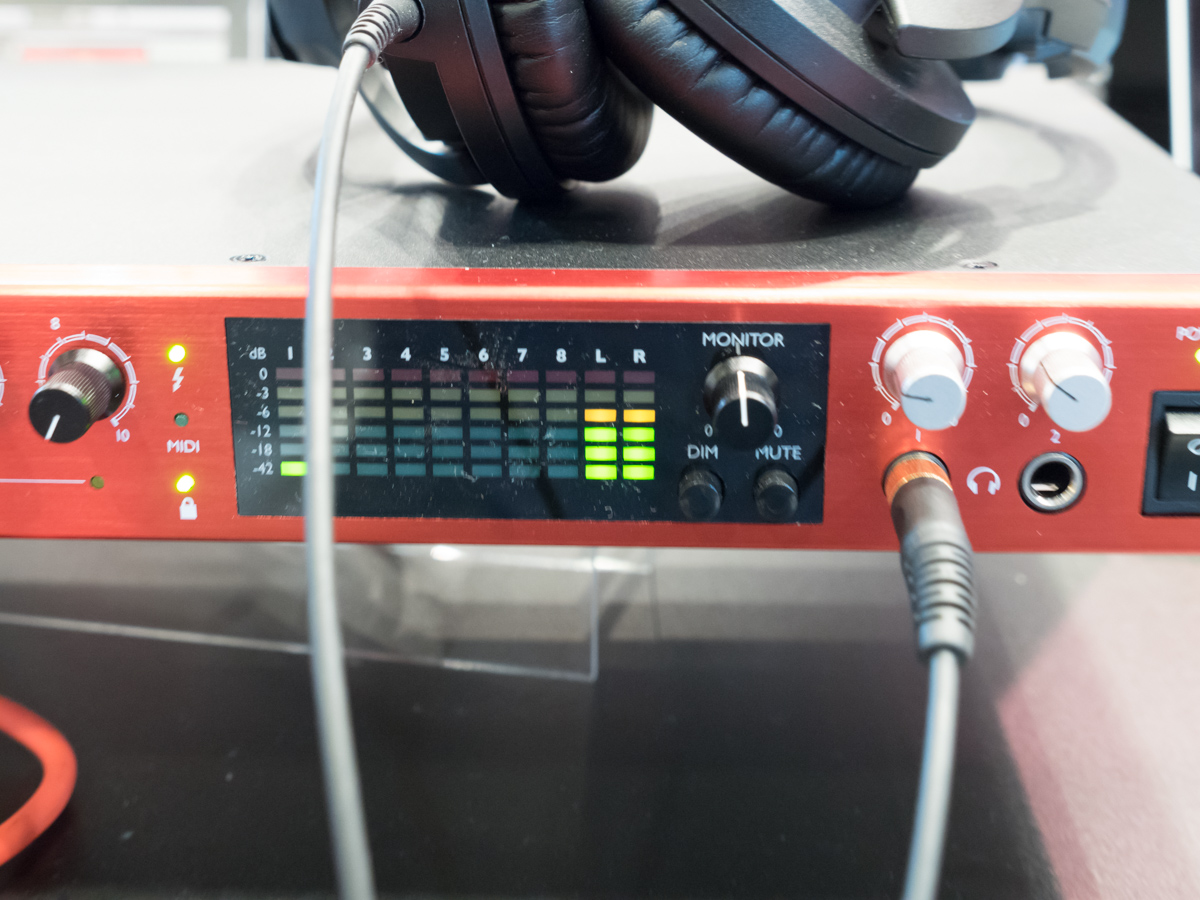 Musikmesse 2015 Day2 : Focusrite