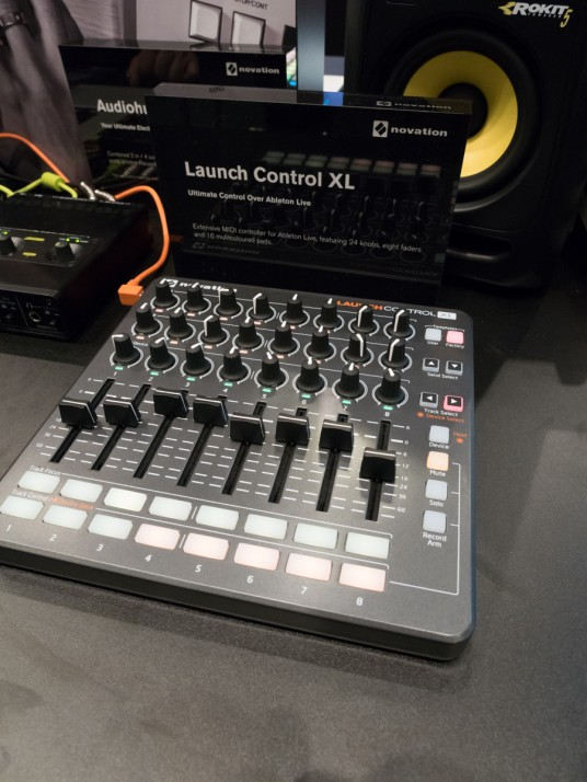 Launch Control XL at Musikmesse 2015