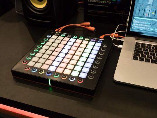 Launchpad pro at Musikmesse 2015
