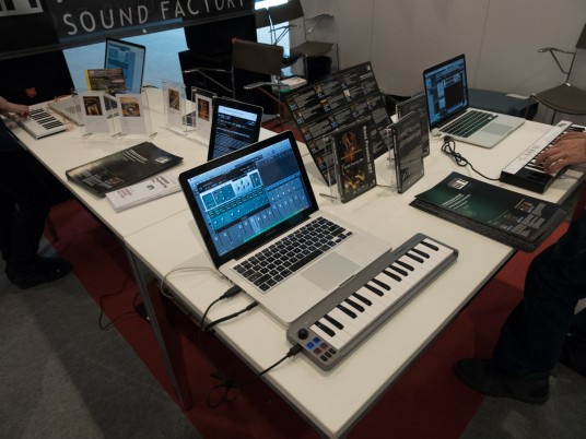 PREMIER Sound Factory at Musikmeese 2015