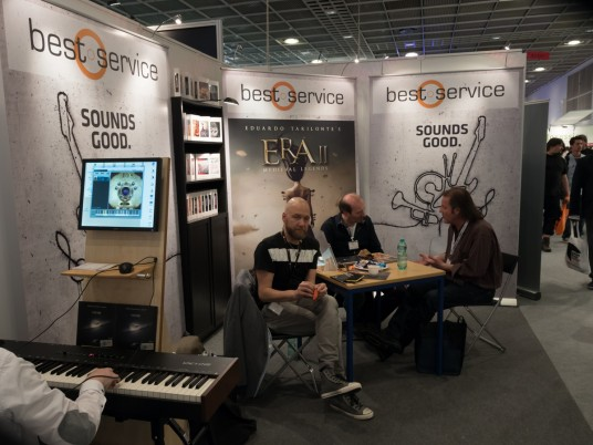 Musikmesse 2015 Rock oN best service