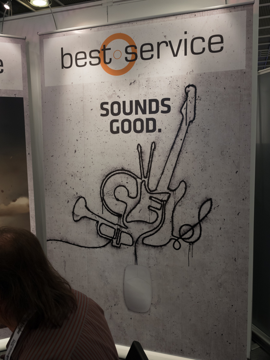 Musikmesse 2015 Day 3:best service