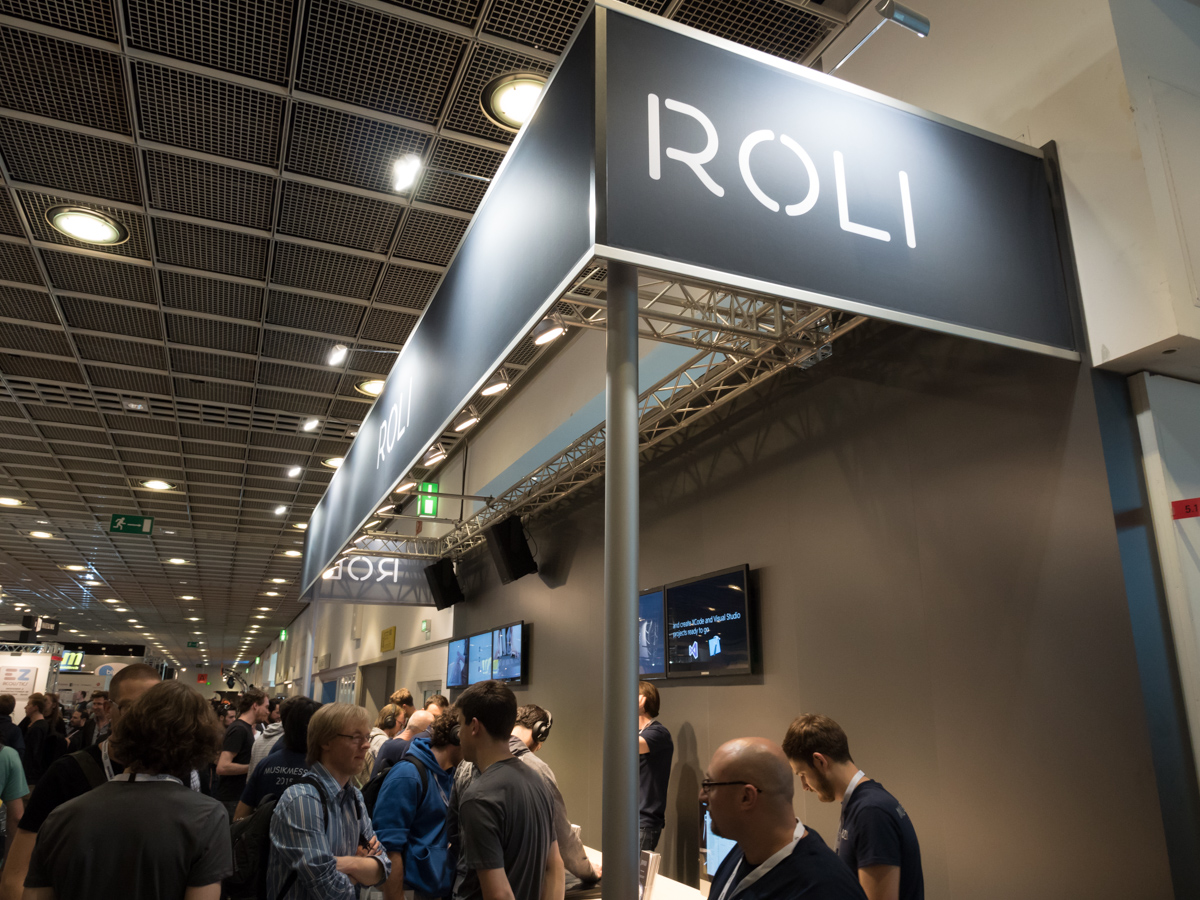 Musikmesse 2015 Day4 : ROLI (Part 2)