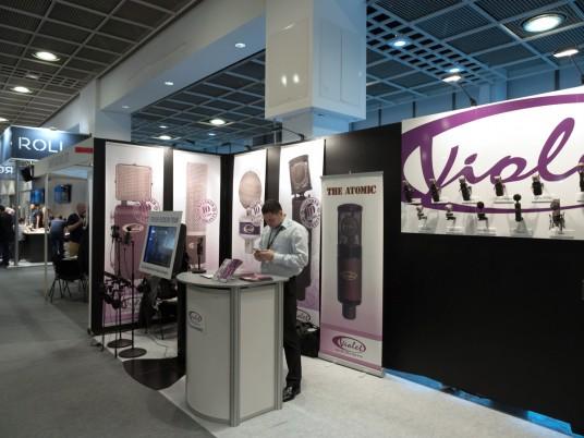 Violet Design at Musikmesse 2015