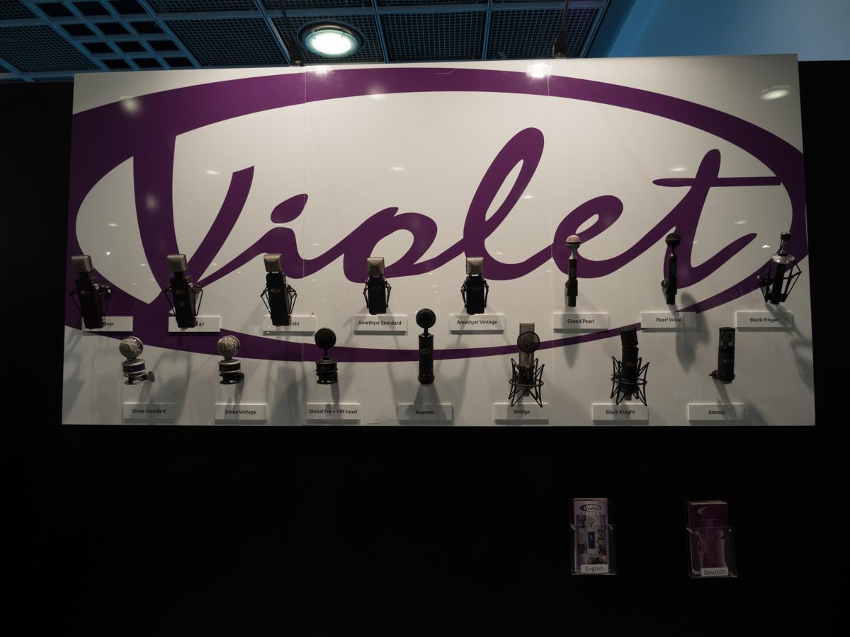 Musikmesse 2015 : Violet Design