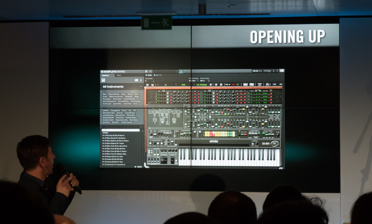 Musikmesse 2015 Day 2:Native Instruments