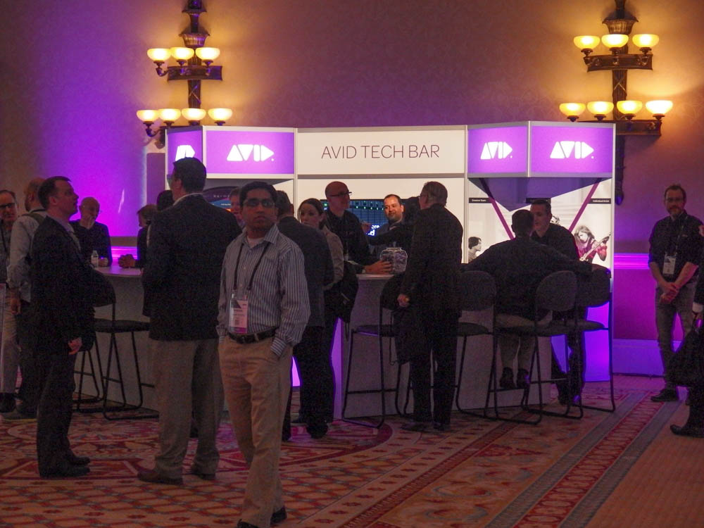 NAB 2015 : AVID Connet welcome reception
