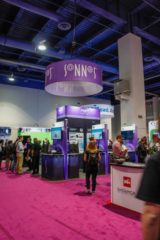 Sonnet at NAB 2015 Musikmesse 2015