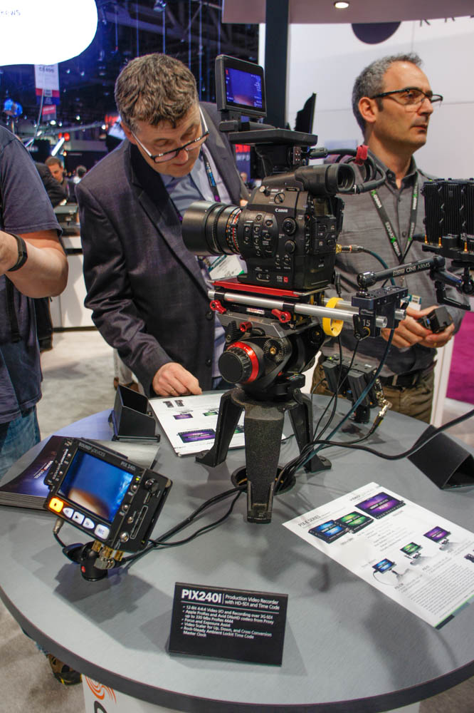 NAB 2015 Day1:Sound Device