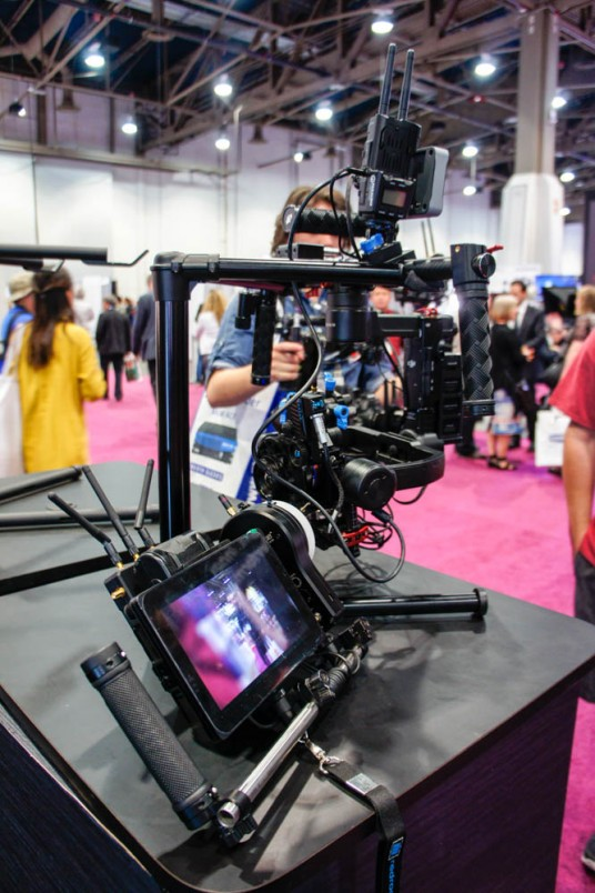 MICRO REMOTE 3.0 with ARTISTRY at NAB 2015