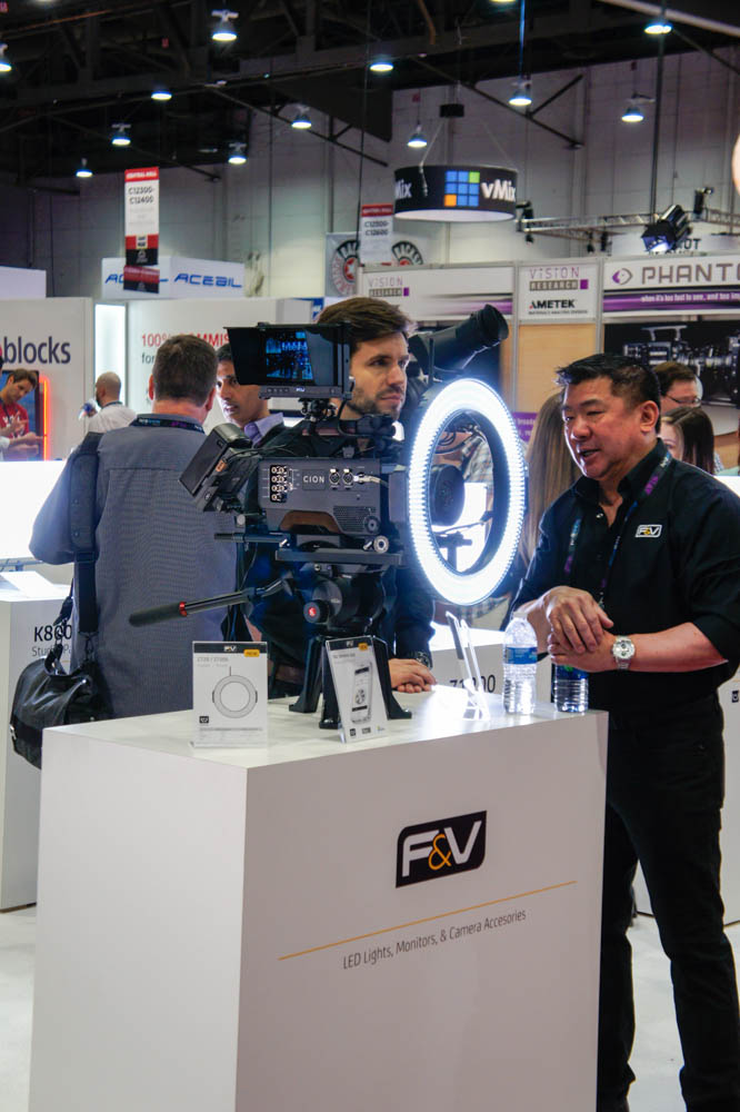 NAB 2015 Day1 : F&V
