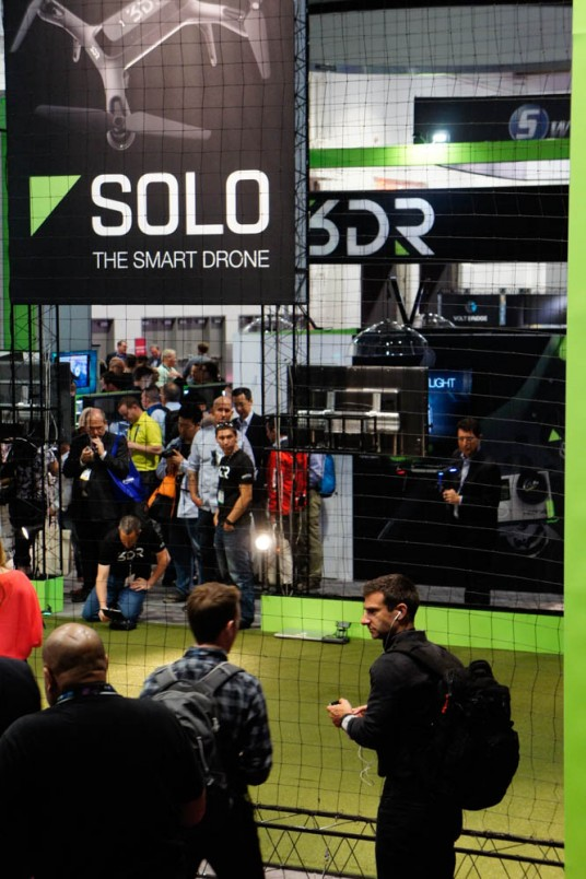3DR Solo at NAB 2015