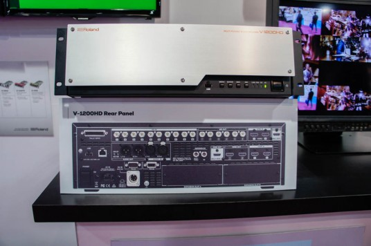 V-1200HD at NAB 2015 Musikmesse 2015