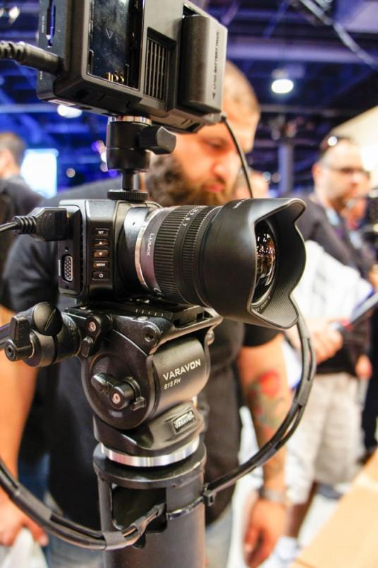 Micro Cinema Camera at NAB 2015