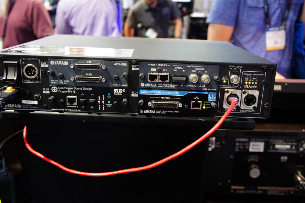 NAB 2015 Day1 : YAMAHA