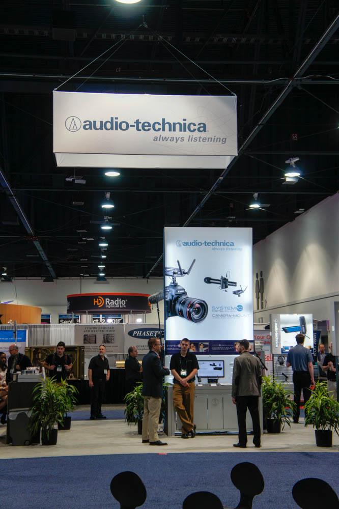 NAB 2015 Day2:Audio Technica