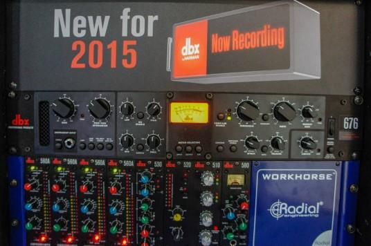 NAB Musikmesse 2015 dbx RockoN