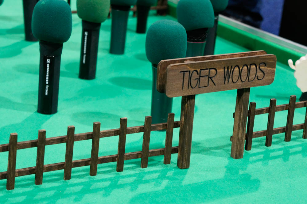 NAB 2015 Day2 : calrec mini golf club