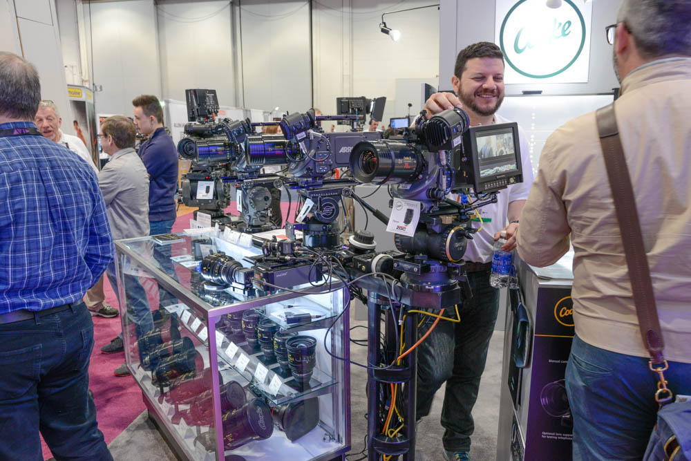 NAB 2015 Day3 : Cooke Optics