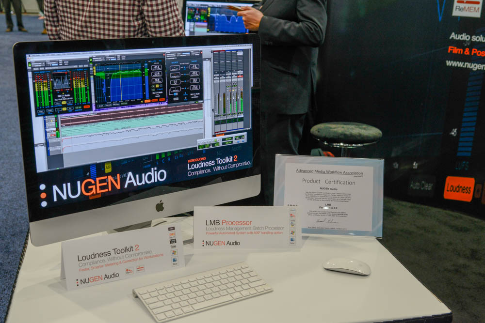 NAB 2015 Day4 : NUGEN Audio
