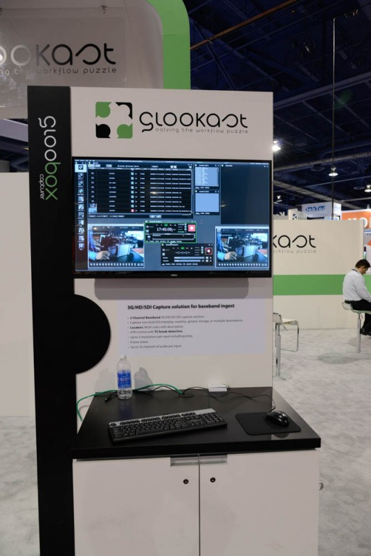 GLOOBOX Capture at NAB 2015