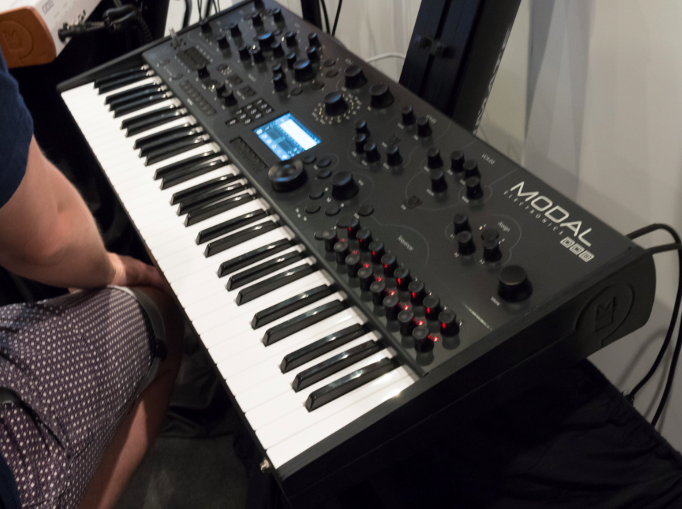 Musikmesse 2015 Day 4:MODAL ELECTRONICS