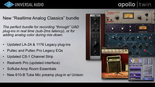 NAMM2014 Universal Audio Apollo Twin4