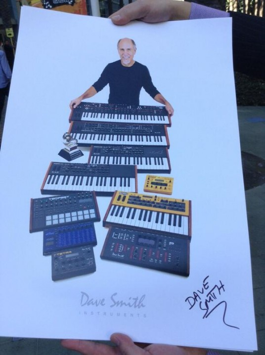 namm2014 Dave Smith instruments