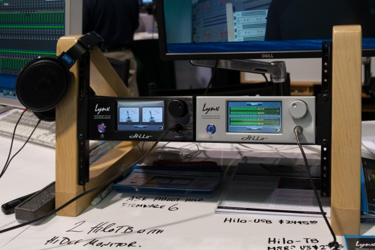 namm 2014 Lynx Audio Technologyブース