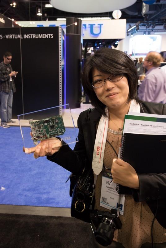NAMM 2014 Lynx Audio Technology AURORA