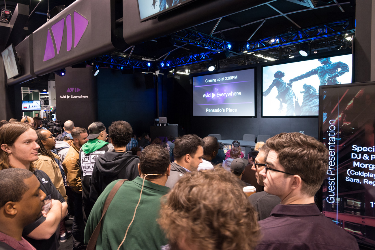 Winter NAMM 2014 : Avid