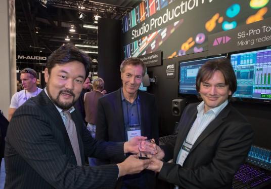 namm2014 Avid Award受賞