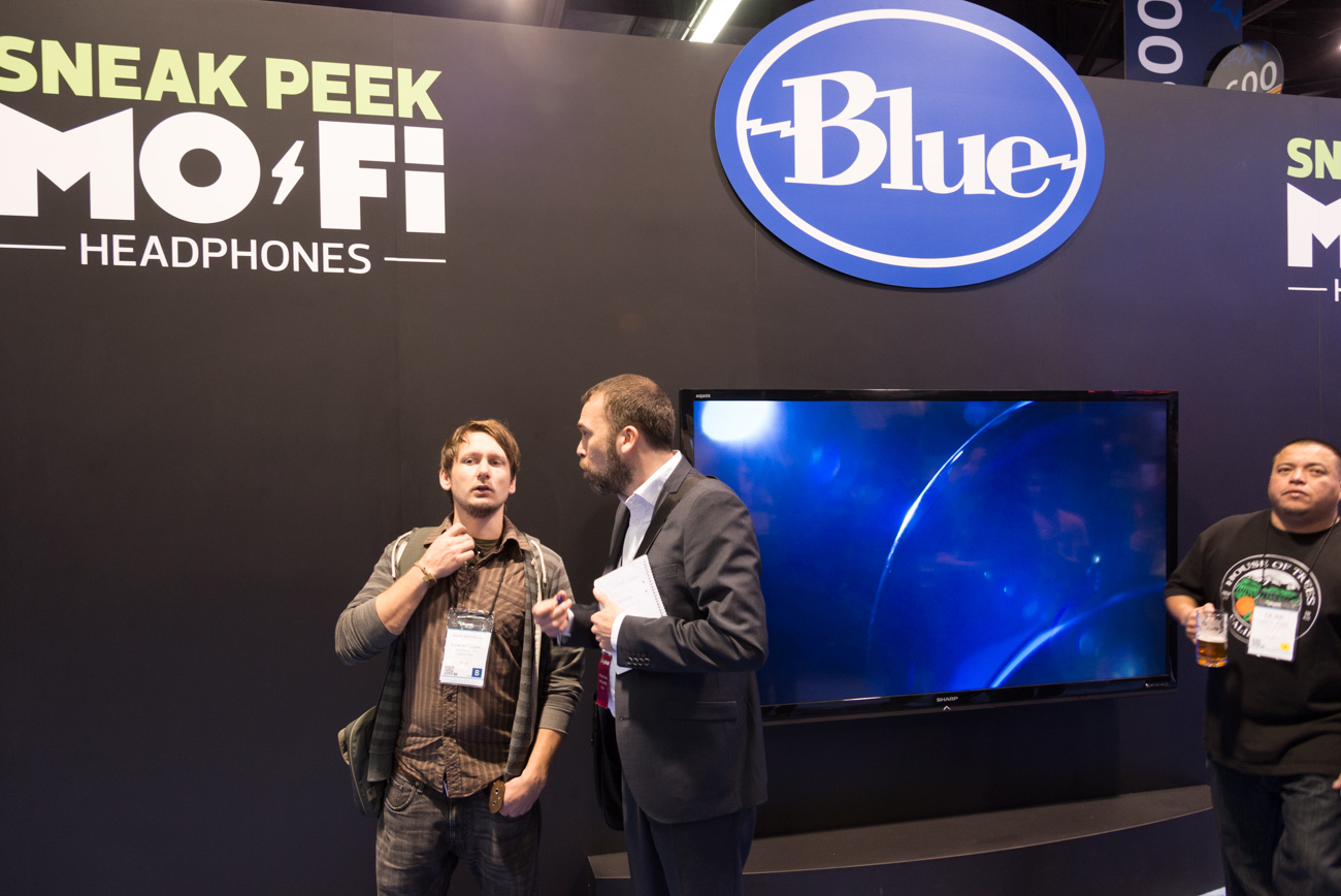 Winter NAMM2014 : Blue Microhones