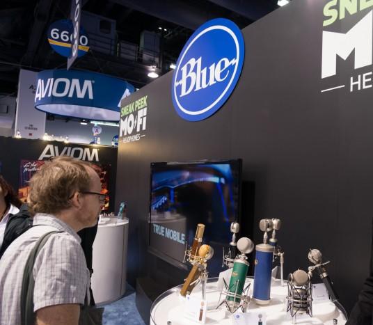NAMM2014 Blue Microhones