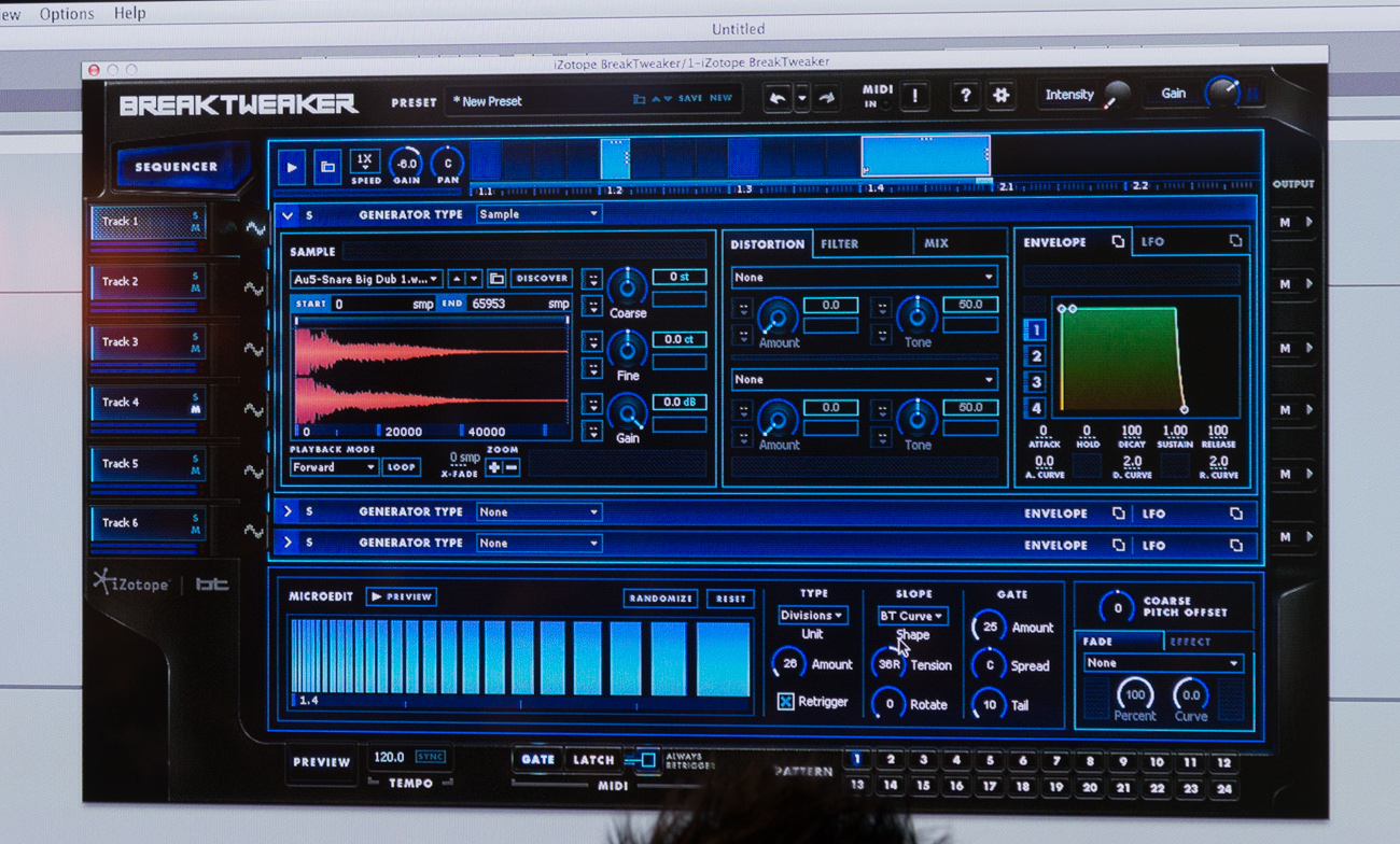 Winter NAMM 2014 : iZotope BreakTweaker