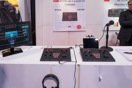 NAMM2014 SPLの新製品Crimson