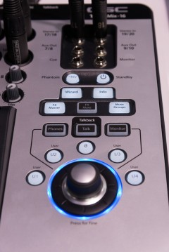 NAMM2014 QSC Touch Mix