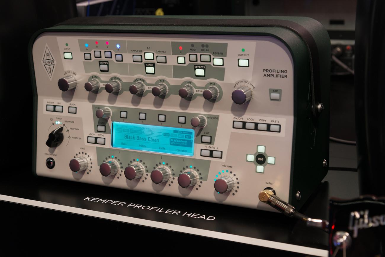 Winter NAMM2014 : KEMPER PROFILING AMP