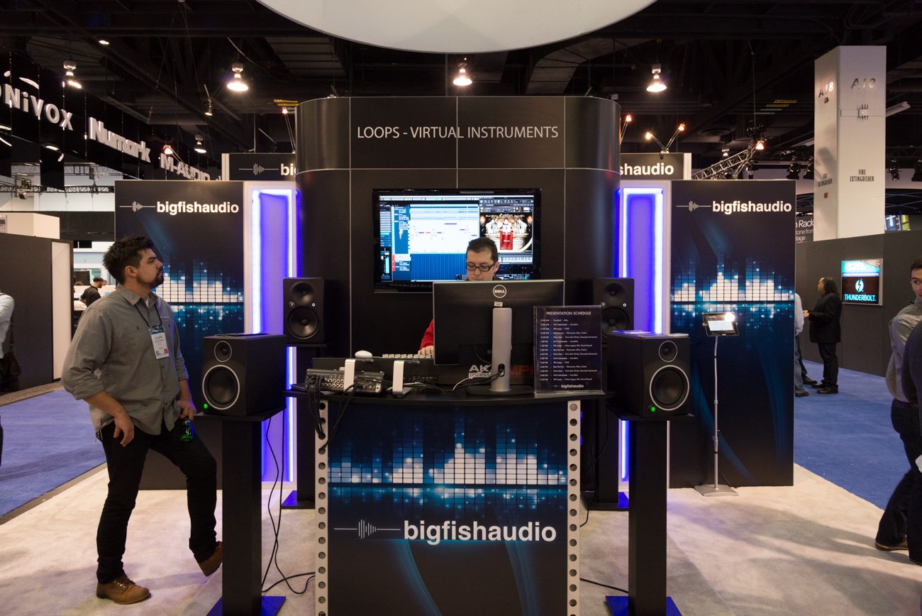 Winter NAMM 2014:Big Fish Audio