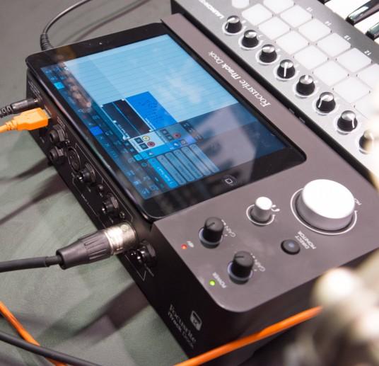 NAMM 2014 Focusrite iTrack Dock