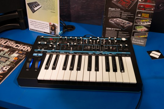 NAMM 2014 NOVATION BASSSTAION II