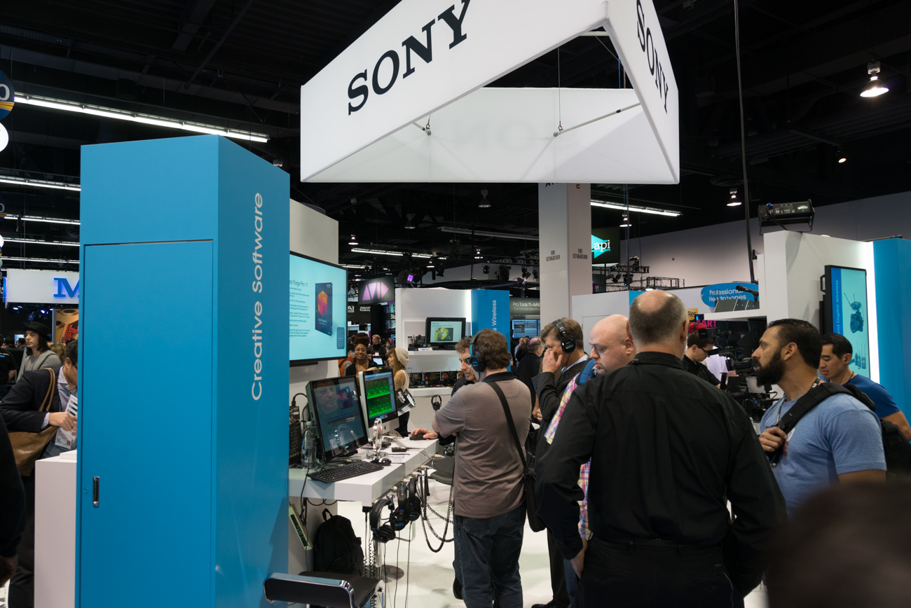 Winter NAMM 2014 : SONY