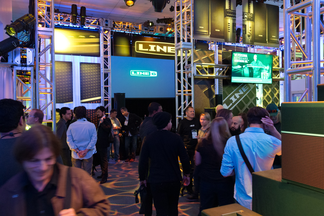 Winter NAMM2014 : Line6